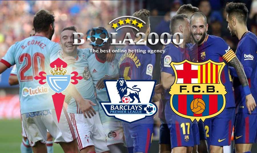 Prediksi Bola 18 April 2018 Liga Spanyol Celta Vigo vs Barcelona