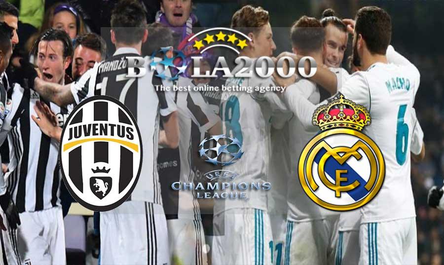Prediksi Bola 04 April 2018 Liga Inggris Juventus vs Real Madrid