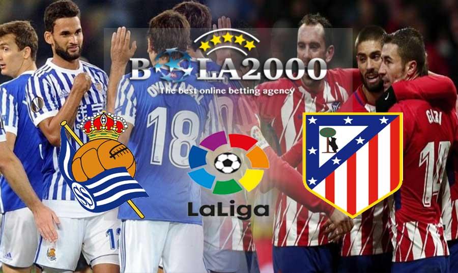 Prediksi Bola 20 April 2018 Liga Spanyol Real Sociedad vs Atletico Madrid