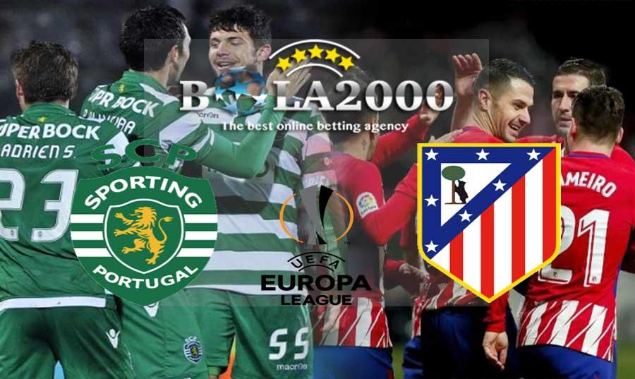 Prediksi Bola 13 April 2018 Liga Europa Sporting vs Atletico Madrid