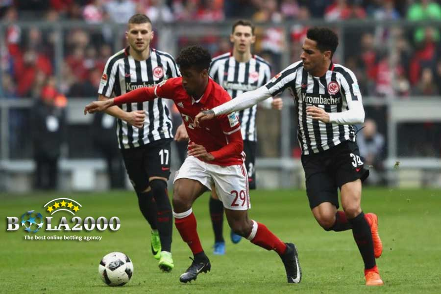 Duel Pemain Bayern dan Eintracht