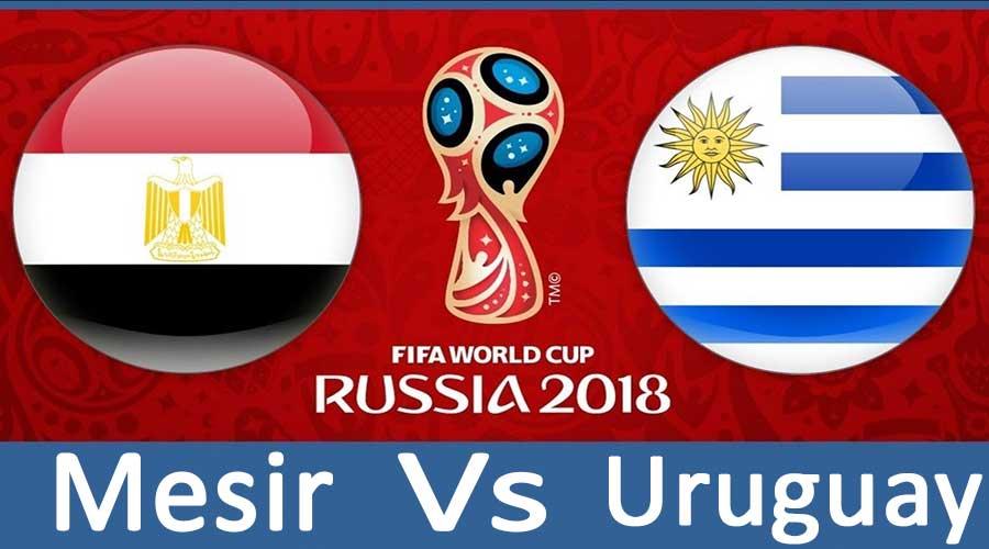 Mesir tantang Uruguay di Partai Perdana Piala Dunia 2018