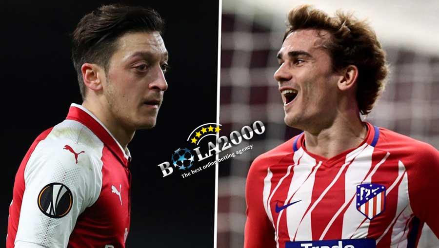 Mesut Ozil dan Antoine Griemann