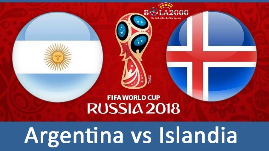Argentina dan Islandia Berada di Grup D Piala Dunia 2018